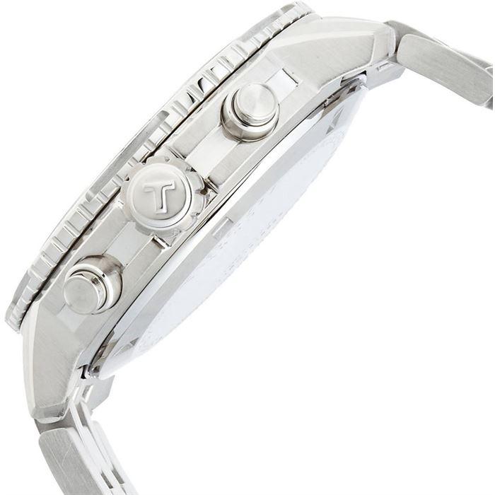 Tissot prs t тип механизма: кварцевый хронограф функции: часы, минуты, секунды, индикация даты, тахиметрическая шкала диаметр: 42 мм.
