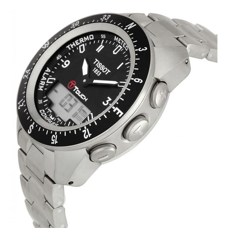 Купить оригинальные часы tissot t-touch expert titanium t по лучшей цене с бесплатной доставкой в день заказа по москве, мо, спб и россии.